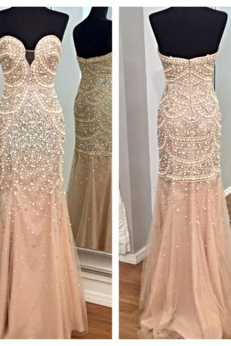 High quality prom dress,long prom dress,mermeid prom dress,beautiful beading dress,prom dress,elegant wowen dress,party dress,evening dress,dress for prom L478