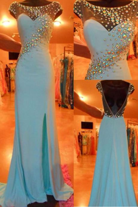 High quality prom dress,long prom dress,beautiful beading prom dress,custom prom dress,elegant wowen dress,party dress L497
