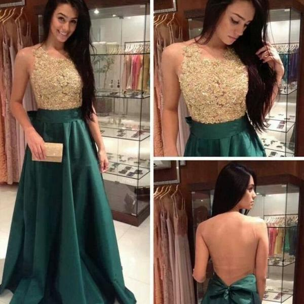 A-line sleeveless prom dress,long prom dress,sexy evening dress ,beautiful dress for prom L284